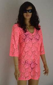 Mexican Embroidered Boho Hippie Beach Cover Up Lace Crochet