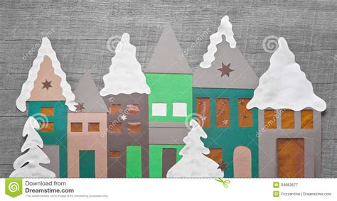 shabby chic christmas decoration handmade  paper