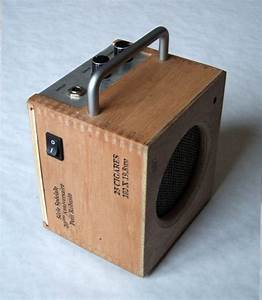 Mini Amp Made From A Cigar Box   Speaker  Speakers  Amp