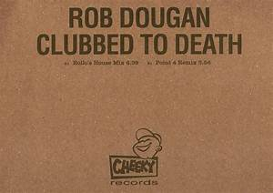discography entry With clubbed to death rob dougan