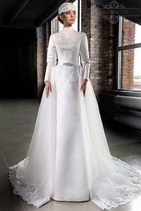 stunning muslim 2015 winter wedding dresses with long With long sleeve winter wedding dresses