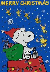Snoopy Merry Christmas Stickers Card Courtesy Hallmark Cards