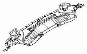 2013 Dodge Challenger R  T 5 7l Hemi V8 A  T Belly Pan  Front   All V8 Engines    6 4l V8 Srt Hemi