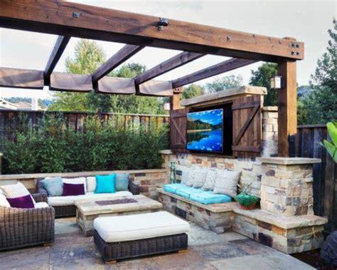 triyae concrete patio ideas small backyards