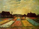 Campo de tulipanes de Vincent Van Gogh