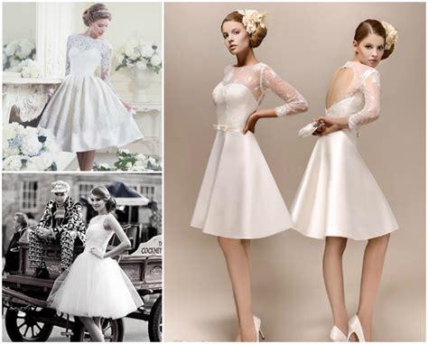 Short Wedding Dresses By Era