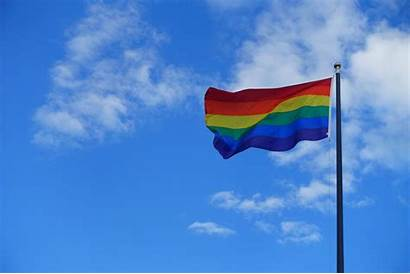 Pride Flag Gay Capitol Wisconsin Evers Fly