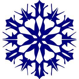 navy blue snowflake  icon  navy blue snowflake icons
