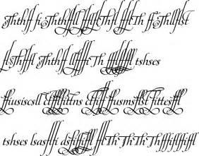 Bold Fancy Cursive Fonts