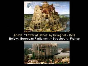 European Union Parliament 04 (Tower of Babel) by NixSeraph ...