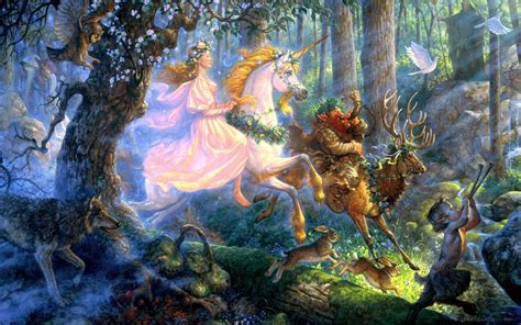 scott gustafson gustafson fantasy paintings unicorn