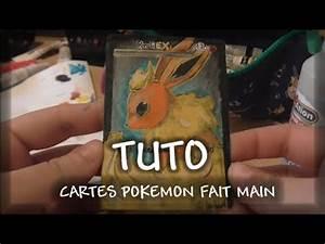 Dessin Fait Main : tuto carte pokemon fait main comment realiser une full ~ Dallasstarsshop.com Idées de Décoration