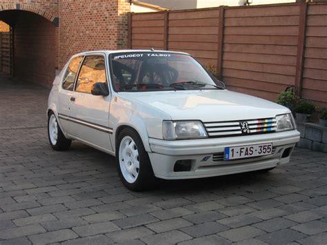 peugeot car garage 1992 peugeot 205 rallye 1 9 mi16
