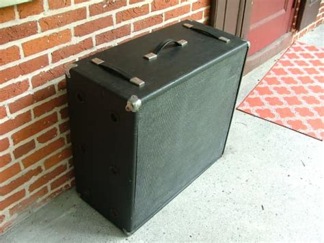 ampeg v4 4x12 speaker cabinet vintage extension cab