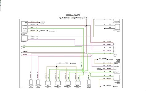 peterbilt  sleeper wiring diagram