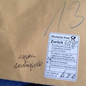 Deutsche Post Lieferzeiten Brief : ich habe neulich einen brief abgeschickt und jetzt ist es wieder zur ck gekommen post ~ Watch28wear.com Haus und Dekorationen
