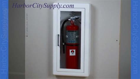 Kidde Semi Recessed Extinguisher Cabinets by Semi Recessed Extinguisher Cabinet Jl Industries