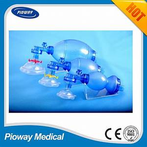 China Portable Ambulance First Aid Oxygen Manual Pvc