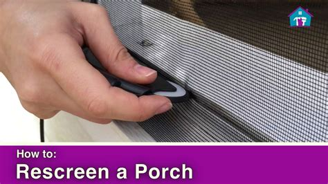 how to rescreen a door how to rescreen a porch
