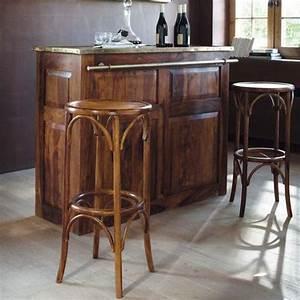 Tabouret Bar Maison Du Monde : tabouret de bar en bois de sheesham massif bar pinterest bar ~ Teatrodelosmanantiales.com Idées de Décoration