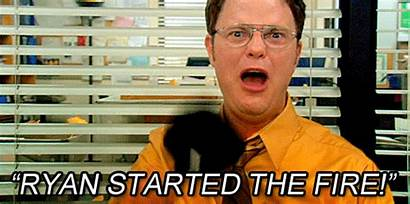 Dwight Fire Ryan Schrute Office Started Quotes