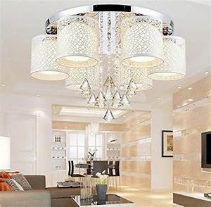 Schlafzimmer Lampe Modern : moderne kreative rundschreiben led deckenleuchte licht kristall lampe schlafzimmer wohnzimmer ~ Watch28wear.com Haus und Dekorationen