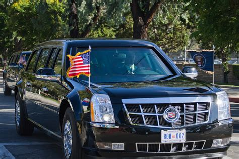 How The Presidential Motorcade Works