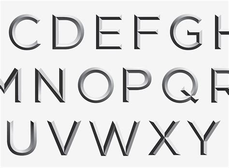 Typeface & Letter Shape