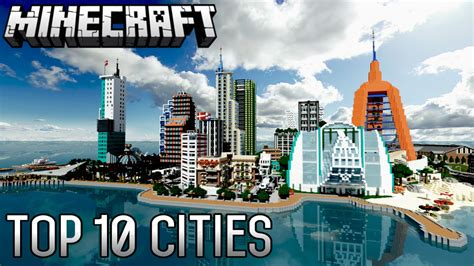Top 10 Insane Minecraft Cities Of Alltime (188) Youtube