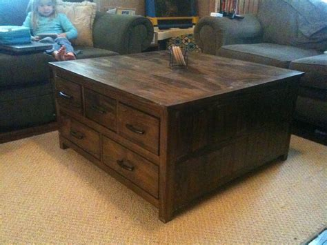 Ana White  Storage Coffee Table  Diy Projects