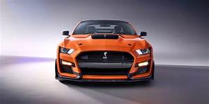 2020 Ford Mustang Shelby GT500 Revealed – Supercharged V-8 Muscle Car