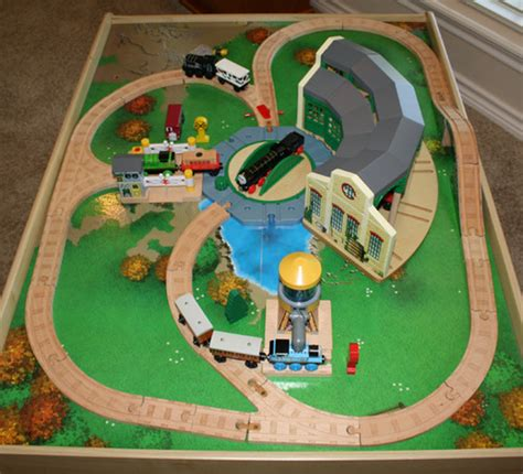 the tidmouth shed layout table set car interior design