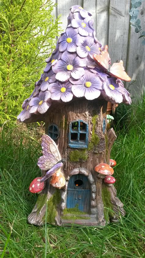 solar flower tree house fairygardensuk co uk