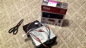 Boss Car Stereo 508uab Install In 2000 Toyota Camry