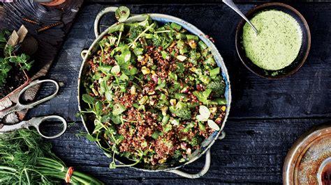 Farmers' Market Quinoa Salad Recipe | Bon Appétit