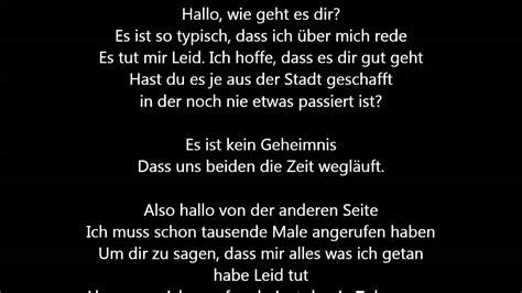 adele  deutsche uebersetzung german lyrics youtube