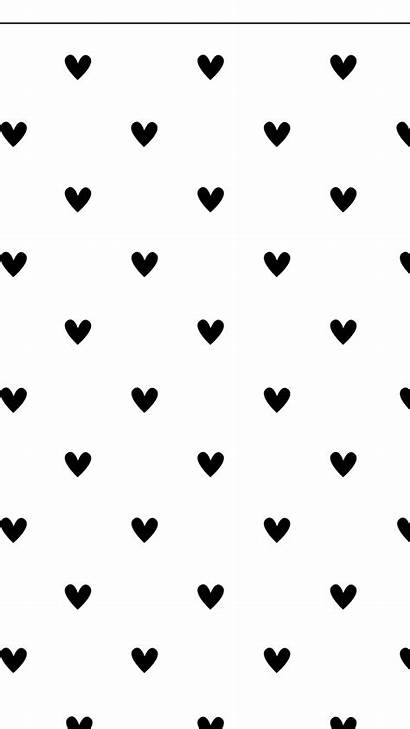 Heart Background Hearts Backgrounds Clean Minimal Iphone