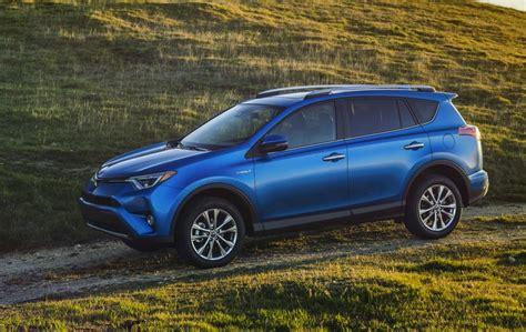 toyota rav hybrid unveiled based   facelift