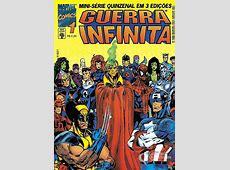 Guerra Infinita n° 1Abril Guia dos Quadrinhos