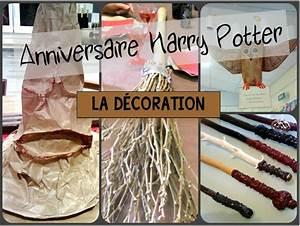 Bougie Harry Potter : anniversaire sur le th me d 39 harry potter la d coration ~ Melissatoandfro.com Idées de Décoration