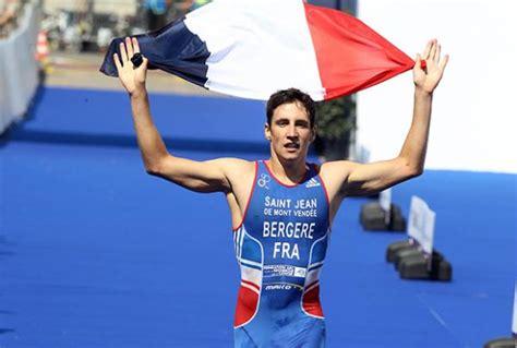 leo bergere du st jean de monts triathlon 1er au classement cnj 2015