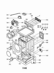 Lg Wm2688hnma Washer Parts