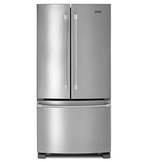Maytag® 33inch Wide French Door Refrigerator  22 Cu Ft