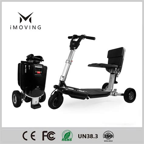 Electric Motor For Tricycle by Imoving X1 Tricycle Smart Folding Electric Motor Scooter