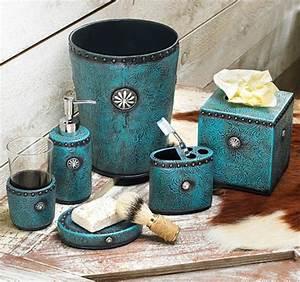 Accessoire Salle De Bain Bleu : les accessoires de salle de bain pour un bon temps la maison ~ Teatrodelosmanantiales.com Idées de Décoration