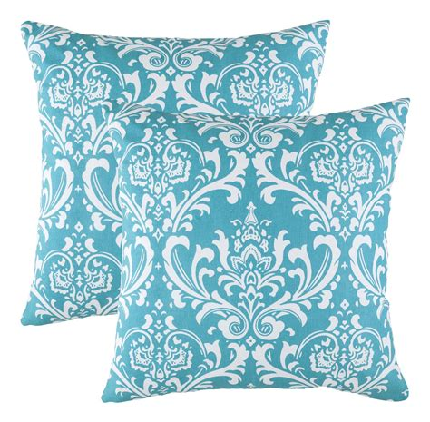 Turquoise Toss Pillows by Throw Pillows Turquoise
