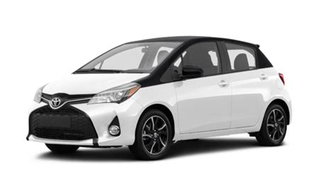 2017 Toyota Yaris Hatchback 5door Se  Starting At $20230