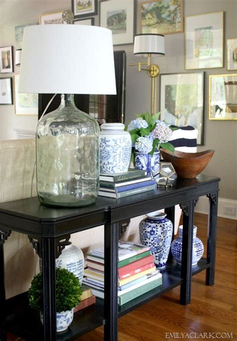 25+ Best Ideas About Sofa Table Styling On Pinterest