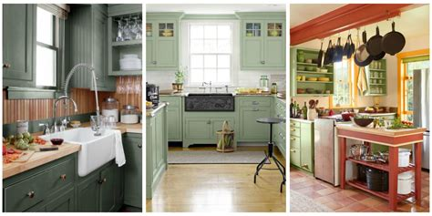 green kitchen ideas  green paint colors  kitchens