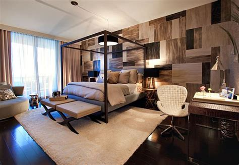 Stylish Bedroom And Living